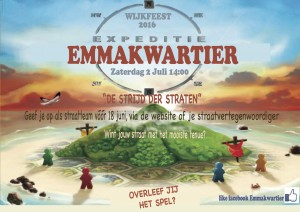Flyer stratenspel 2016