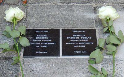 Herdenkingsstenen herinneren aan Joodse Alkmaarders