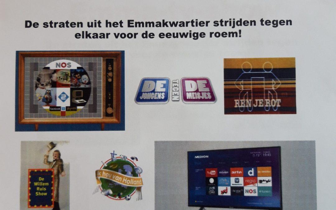 Wijkfeest Emmakwartier – De Grote Emma tv show!